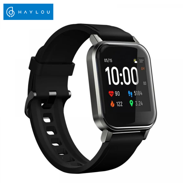 Smartwatch Xiaomi Haylou LS02 resigilat, versiune EU, bluetooth 5.0, 12 moduri sport, 20 zile autonomie, IP68, masurare ritm cardiac 0