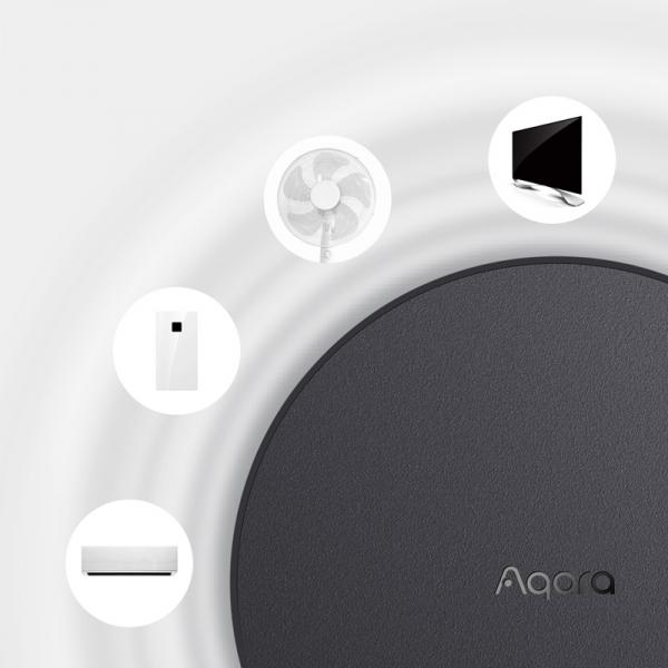 Starter KIT smart home Aqara versiune europeana 6 in 1, securitate, notificari, automatizare iluminat, alerta inundatie, WiFi, control IR, Zigbee 3.0 4