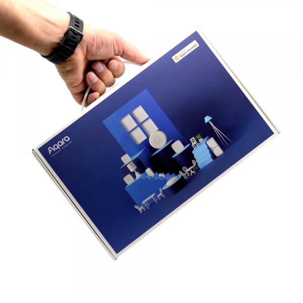 Starter KIT smart home Aqara versiune europeana 6 in 1, securitate, notificari, automatizare iluminat, alerta inundatie, WiFi, control IR, Zigbee 3.0 3