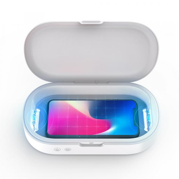 Sterilizator UV Blitzwolf compact pentru telefoane sau obiecte mici, sterilizare 99.99%, difuzor aromaterapie, UV 253.7nm 1