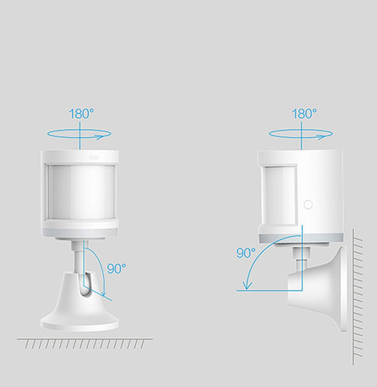 Suport Aqara cu adeziv 3M pentru senzor de miscare Aqara sau Xiaomi 1