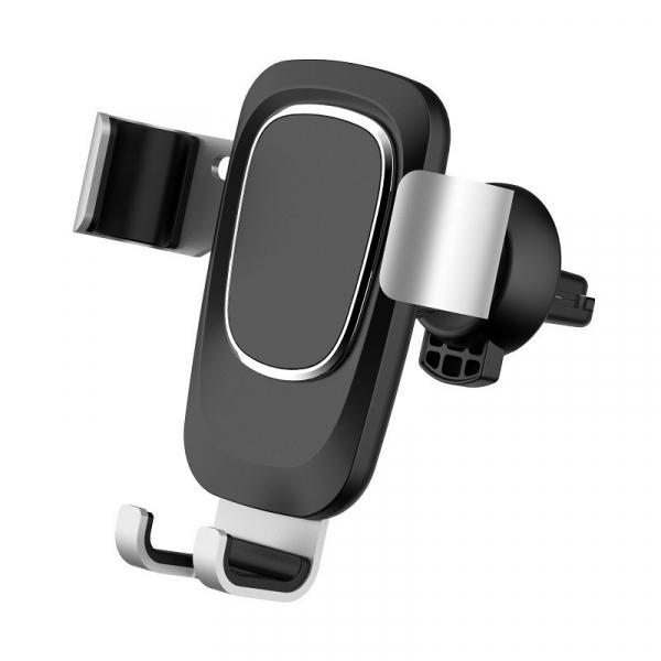 Suport auto Havit gravity pentru telefon cu prindere in grila ventilatie, ajustare 360 grade, negru 0