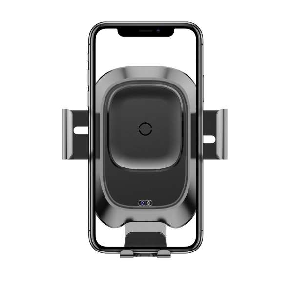 Suport telefoane si incarcator auto wireless Baseus cu ventuza, QI, rotatie 360°, 10W, compatibil Android & Apple 1