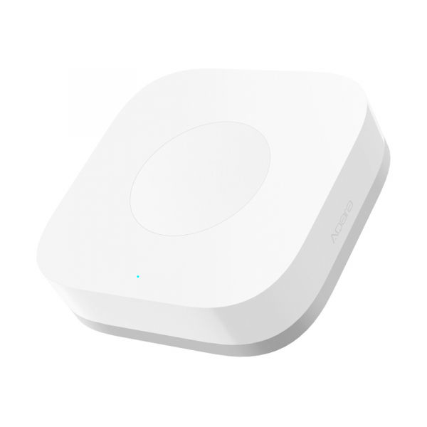 Switch wireless mini Aqara, programabil, ZigBee, versiune europeana, compatibil Apple Homekit, MI Home EU 1