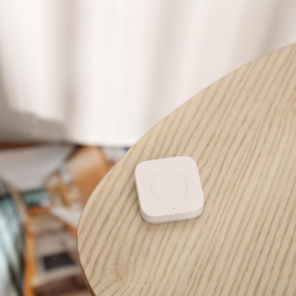 Switch wireless mini Aqara, programabil, ZigBee, versiune europeana, compatibil Apple Homekit, MI Home EU 4