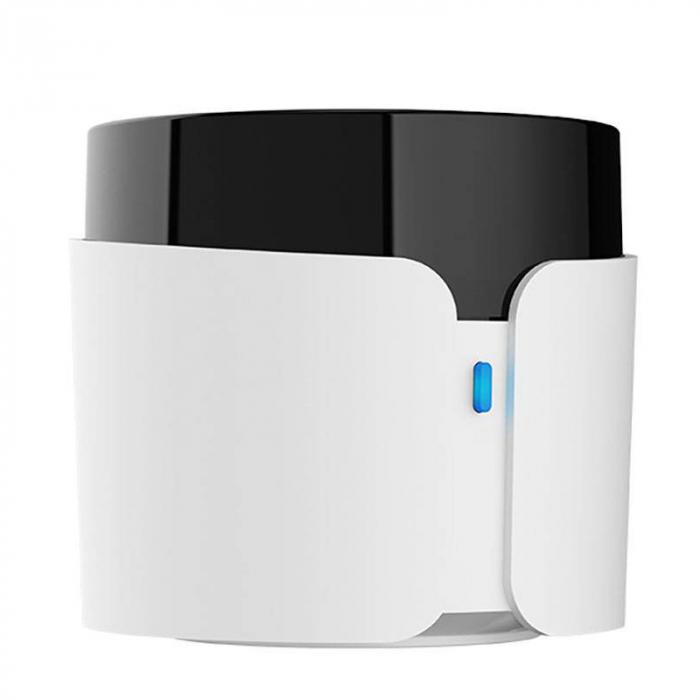 Telecomanda smart universala BroadLink RM4C PRO, 360°, Wi-Fi, acces de la distanta, IR 38KHz, RF 433 MHz, compatibila Google & Alexa 1