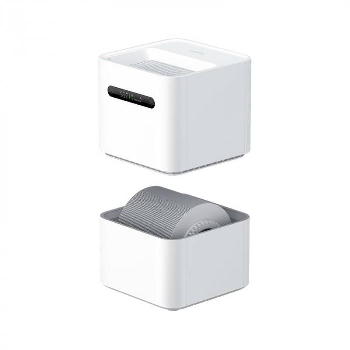 Umidificator de aer Xiaomi Smartmi generatia a 2-a, 260 ml/h, rezervor 4 L, Wi-Fi, LED, compatibil Mi Home EU 2
