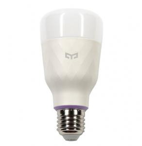 Bec Smart LED Xiaomi Yeelight V2, RGB+W, 10 watti, 800 lumeni, WiFi, compatibil Google, Alexa, IFTTT
