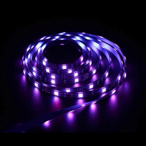 Banda LED smart Sonoff L1, RGB+W, rezistenta la umiditate IP65, Wi-Fi, compatibila Google & Alexa, 5 metri3