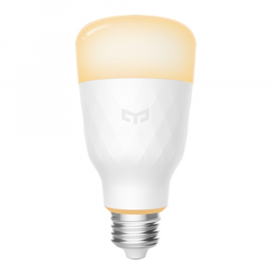 Bec Smart LED Xiaomi Yeelight 1S, alb, 8.5 watt, 800 lumeni, WiFi, Google, Homekit, SmartThings1