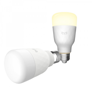 Bec Smart LED Xiaomi Yeelight 1S, alb, 8.5 watt, 800 lumeni, WiFi, Google, Homekit, SmartThings3