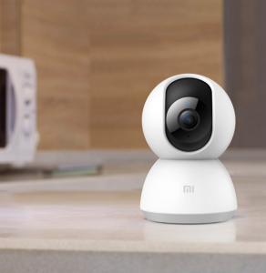 Camera smart Xiaomi 360° FHD 1080P, WiFi, senzor miscare AI, IR, apel bidirectional, versiunea EU