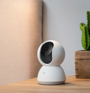 Camera smart Xiaomi 360° FHD 1080P, WiFi, senzor miscare AI, IR, apel bidirectional, versiunea EU4