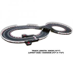 Circuit masinute cu telecomanda Joysway Super 152, lungime 308cm, alimentare cu USB, scala 1:43, faruri LED [2]