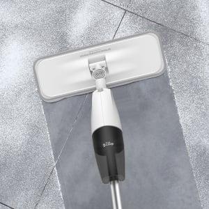 Mop Xiaomi Deerma TB500 cu pulverizator si rezervor apa, rotatie 360 grade, laveta fibra de carbon, uscare rapida [2]