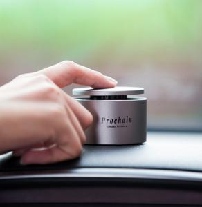 Odorizant auto Prochain (Xiaomi) Vivinevo, parfum floral, kit instalare cu baza magnetica1