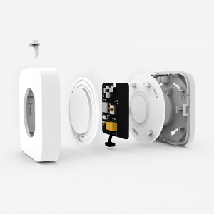 Switch wireless Aqara, programabil la 3 actiuni, ZigBee, compatibil smart home Aqara, Xiaomi, Homekit2