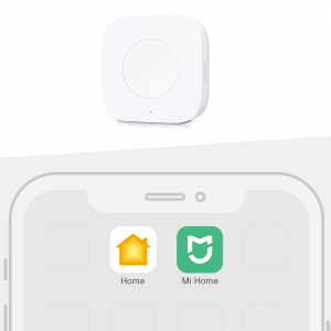 Switch wireless Aqara, programabil la 3 actiuni, ZigBee, compatibil smart home Aqara, Xiaomi, Homekit3