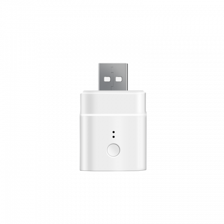 Adaptor cu USB smart Sonoff Micro, Wi-Fi, pentru automatizare device-uri cu USB, compatibil Alexa, Google Home0
