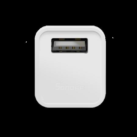Adaptor cu USB smart Sonoff Micro, Wi-Fi, pentru automatizare device-uri cu USB, compatibil Alexa, Google Home [2]