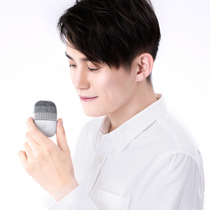 Xiaomi inFace Sonic, curatare faciala , silicon medicinal, tehnologie Sonic, 3 programe, waterproof IPX7, gray5