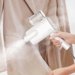 Aparat de calcat cu abur Xiaomi Deerma pentru haine, 800W, functie sterilizare, rezervor apa 100ml, perie inclusa1