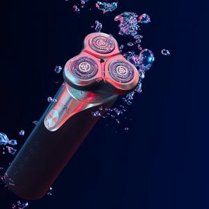 Aparat de ras/barbierit Xiaomi Soocas S3 2020 EU, 3 lame cu rotatie 360°, 800 mAh, waterproof IPX7, black & gold, tehnologie IFT [3]