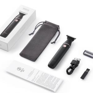 Aparat de ras Xiaomi Soocas ET2 2020, versiune EU, lama tripla, waterproof IPX7, 60 min autonomie, negru3