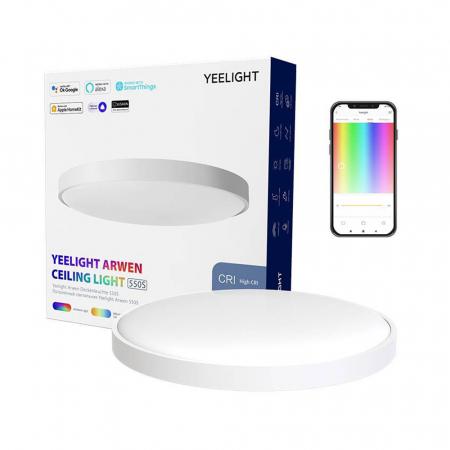 Aplica smart Yeelight Arwen 550S, 555mm, 3500 lumeni, Ra 90,2700K - 6500K, compatibila Google Home, Apple Homekit, SmartThings, Alexa [0]