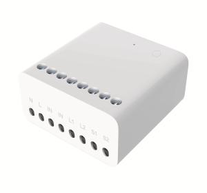Releu smart Aqara wireless ZigBee, doua canale, ecosistem european, compatibil MI Home, Apple Homekit, Aqara Home0