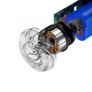 Aspirator auto wireless Baseus Capsule, 65W, 4000Pa, 2000 mAh, 25 minute autonomie, filtrare tripla, silver3