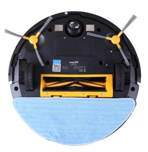 Aspirator smart VROBOT-II, control de la distanta, WiFi, functie de spalare, compatibil Google, Alexa4