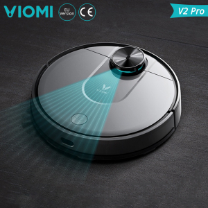 Aspirator robot Xiaomi Viomi V2 PRO, 2150 PA, functie mopping, navigare laser, compatibil MI Home, versiune EU1