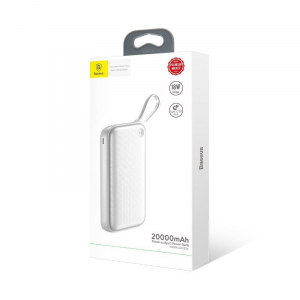Power Bank Baseus Powerful 20000 mAh, 2 x USB Quick Charge 3.0, Type-C PD, Micro USB, incarcare simultana tripla3