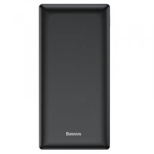 Power Bank Baseus Mini JA, 20000mAh, 2 x USB, Type-C, Micro USB, max 3A, incarcare duala simultana, negru1