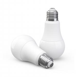 Bec LED Aqara smart, tunable white, E27, 2700K-6500K, 806 lumeni, Zigbee, control vocal, versiune europeana0