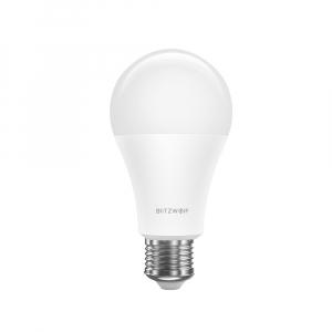 Bec LED Blitzwolf RGBW, 10W, WiFi 2.4Ghz, 16mil culori, 900 lumeni, ecosistem Smart Life, compatibil Google & Alexa3