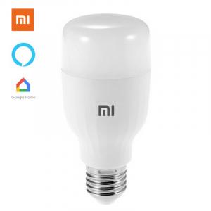Bec LED smart Xiaomi Essential, 9W, WiFi, lumina alba + color, 950 lumeni, compatibil Google & Alexa, versiune EU0