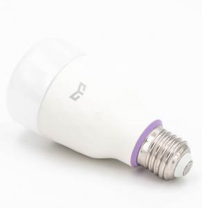 Bec Smart LED Xiaomi Yeelight V2, RGB+W, 10 watti, 800 lumeni, WiFi, compatibil Google, Alexa, IFTTT3