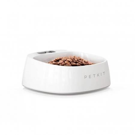 Bol hrana cu cantar smart pentru catei sau pisici PetKit Fresh, LED, ABS [0]