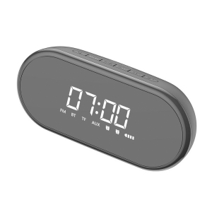 Boxa wireless afisaj LED Baseus Encok E09 cu ceas, radio si lumina de noapte, bluetooth 4.2, jack 3.5mm, microSD2