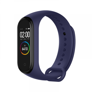 Bratara fitness Xiaomi MI Band 4, HR, AMOLED, waterproof, bluetooth 5.0, 20 zile autonomie, EU, deep blue0