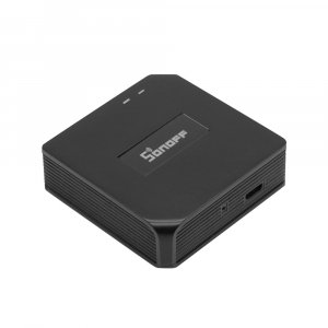 Hub smart Sonoff 433 RF Bridge, Wi-FI integrat 2.4Ghz, acces de la distanta, compatibil Google Home, Alexa0