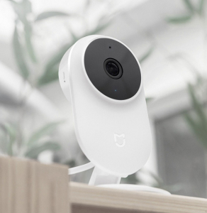 Camera Smart IP Xiaomi Mijia Home 1080p, Wifi 2.4Ghz, senzor de miscare IR, 20 FPS, varianta globala2