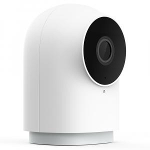 Camera Aqara G2H cu hub Zigbee 3.0 integrat, WiFi, varianta europeana, compatibila Homekit, IR, AI, Full-HD 1080P, FOV 140°2