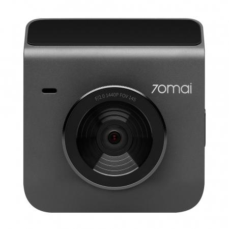 Pachet camera auto smart Xiaomi 70mai A400 QHD rezolutie 2560X1440, FOV 145°, WiFi, plus camera marsarier 70mai RC09 Full-HD, versiune EU [1]
