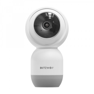 Camera IP smart Blitzwolf PTZ 355°, resigilata 1080P, WiFi, IR, motion tracking, compatibila ecosistem Smart Life0