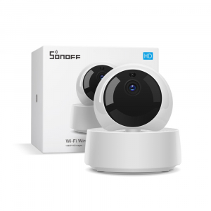 Camera smart IP 360° Sonoff GK-200MP2-B, Wi-Fi & Ethernet, 1080p, senzor IR, suport RTSP, 2 way audio [0]
