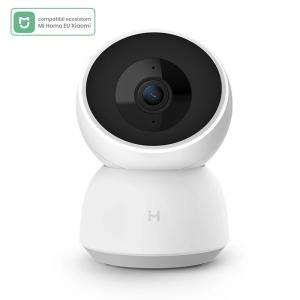 Camera smart Xiaomi Imilab A1, versiune EU, resigilata, 360°, 2K, WiFi, baby monitor, detectare planset bebelusi, motion tracking, H.2650