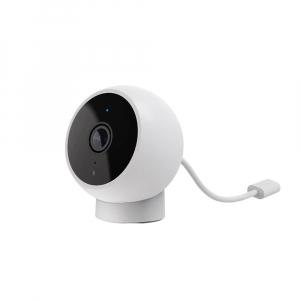 Camera smart WiFi Xiaomi 1080P, H.265, baza magnetica, varianta EU, IP65, senzor miscare, infrarosu, intercom, FOV 170°2
